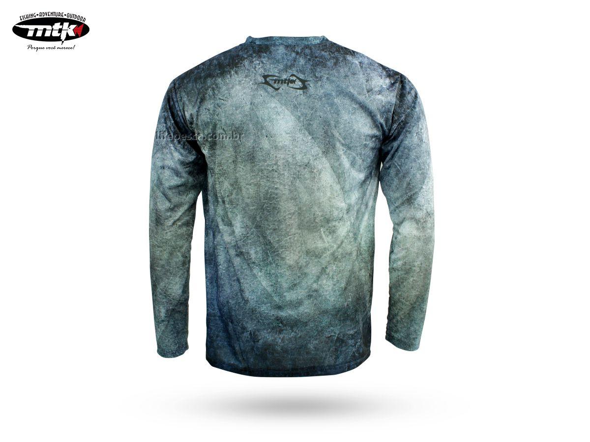 Camiseta De Pesca MTK Atack V - Proteção Solar Uv - Pixe  - Life Pesca - Sua loja de Pesca, Camping e Lazer
