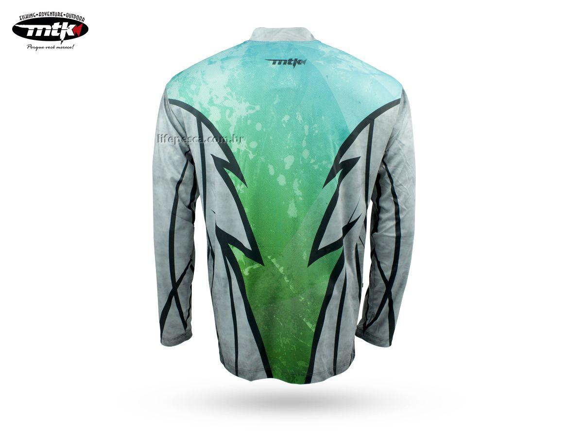 Camiseta De Pesca Mtk Atack Z - Protecao Solar Uv - Tucunaré  - Life Pesca - Sua loja de Pesca, Camping e Lazer