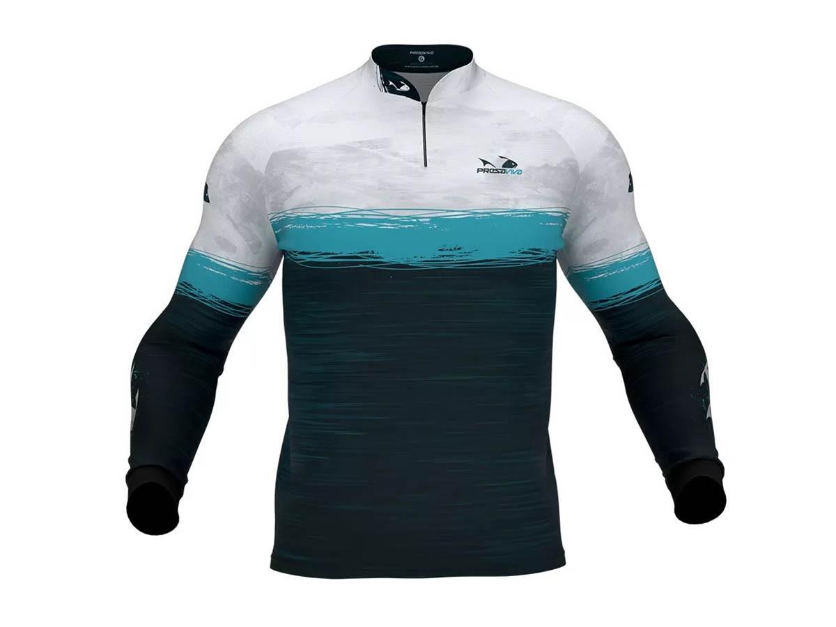 Camiseta De Pesca Presa Viva Proteção Solar Uv - PV 06