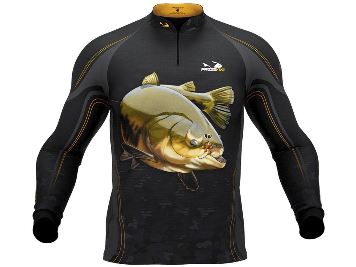 Camiseta De Pesca Presa Viva Proteção Solar Uv - Tamba 02