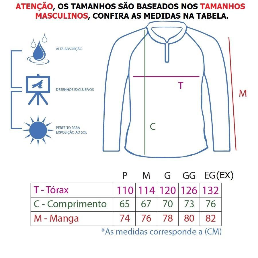 Camiseta De Pesca King Proteção Solar Uv KFF72 - Princess  - Life Pesca - Sua loja de Pesca, Camping e Lazer