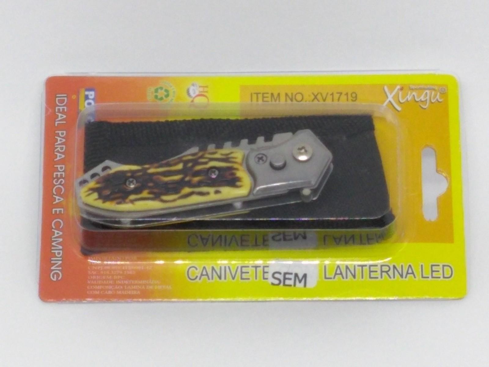 Canivete Xingu XV1719 - Cabo Osso  - Life Pesca - Sua loja de Pesca, Camping e Lazer