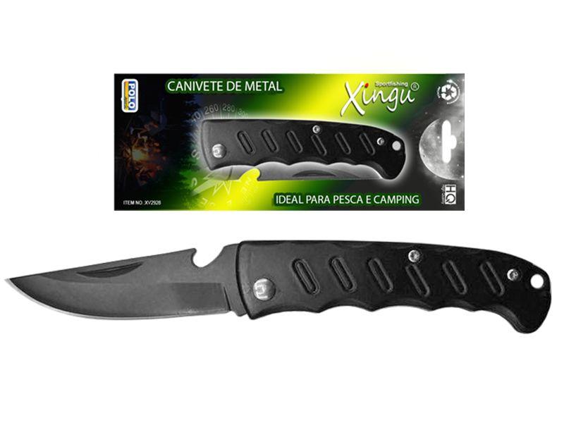 Canivete Xingu XV2928 - Cabo Metal  - Life Pesca - Sua loja de Pesca, Camping e Lazer