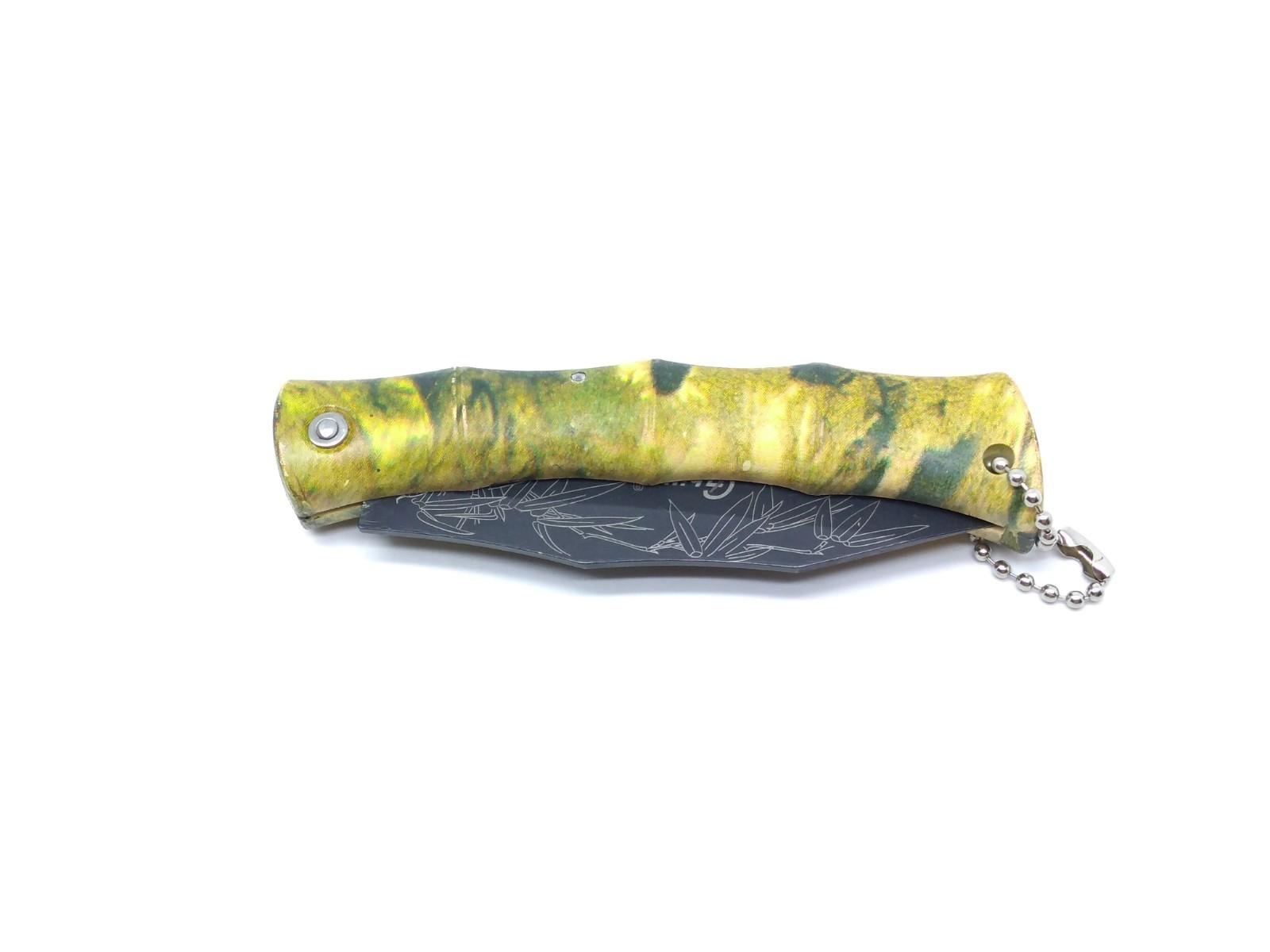 Canivete Xingu XV3137 Cabo Camuflado - Desenho na Lâmina  - Life Pesca - Sua loja de Pesca, Camping e Lazer