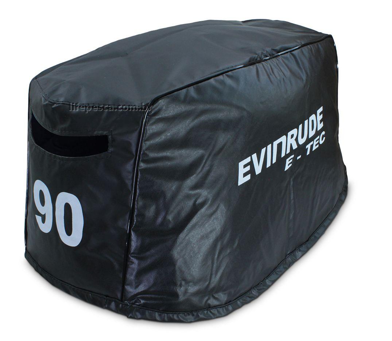 Capa Para Capô De Motor De Popa Evinrude E-Tec 90 HP