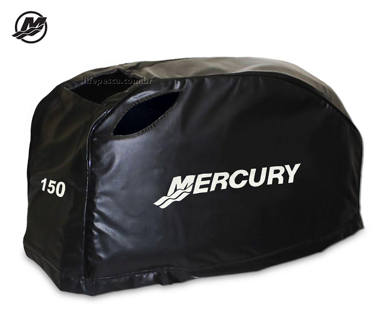 Capa Para Capô De Motor De Popa Mercury 150 Hp 4 Tempos