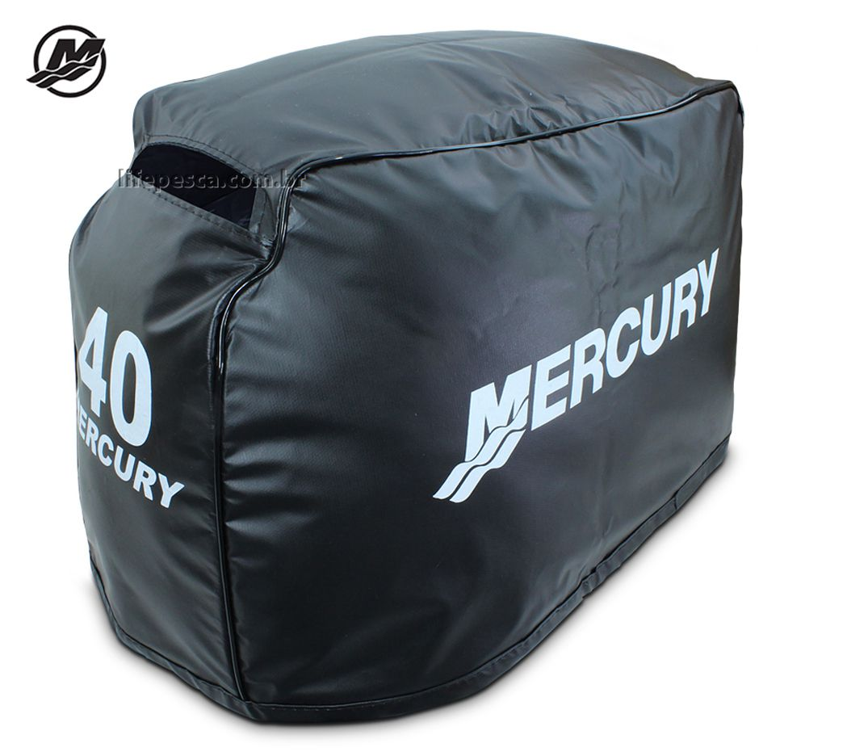 Capa Para Capô De Motor De Popa Mercury 40 Hp 2 e 4 Tempos