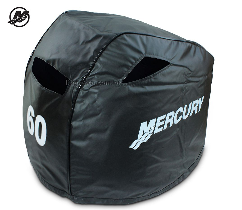 Capa Para Capô De Motor De Popa Mercury 60 Hp 2 e 4 Tempos