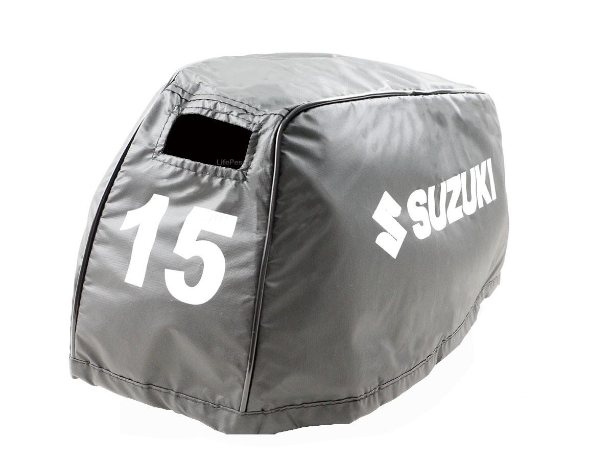 Capa Para Capô De Motor De Popa Suzuki 15 HP Novo