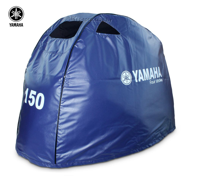 Capa Para Capô De Motor De Popa Yamaha 150 Hp 4 Tempos