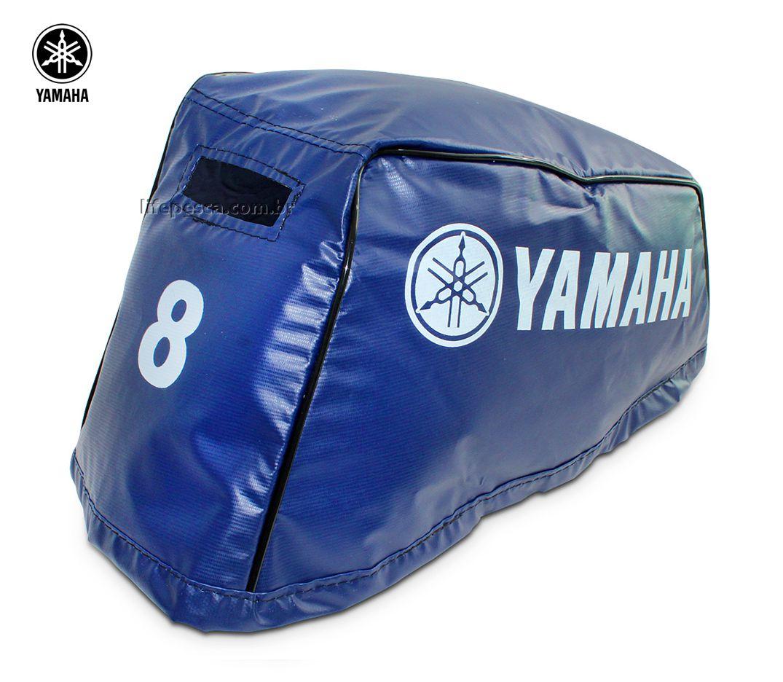 Capa Para Capô De Motor De Popa Yamaha 8 HP CM/FM - 2 Tempos