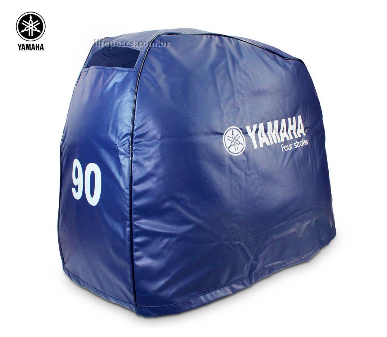 Capa Para Capô De Motor De Popa Yamaha 90 Hp 2 e 4 Tempos