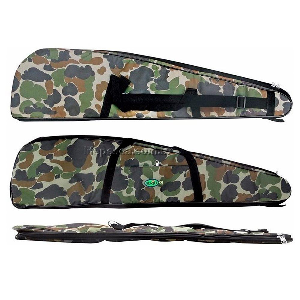 Capa Protetora Para Carabina Almofadada (1,20m) Raju - Camuflada