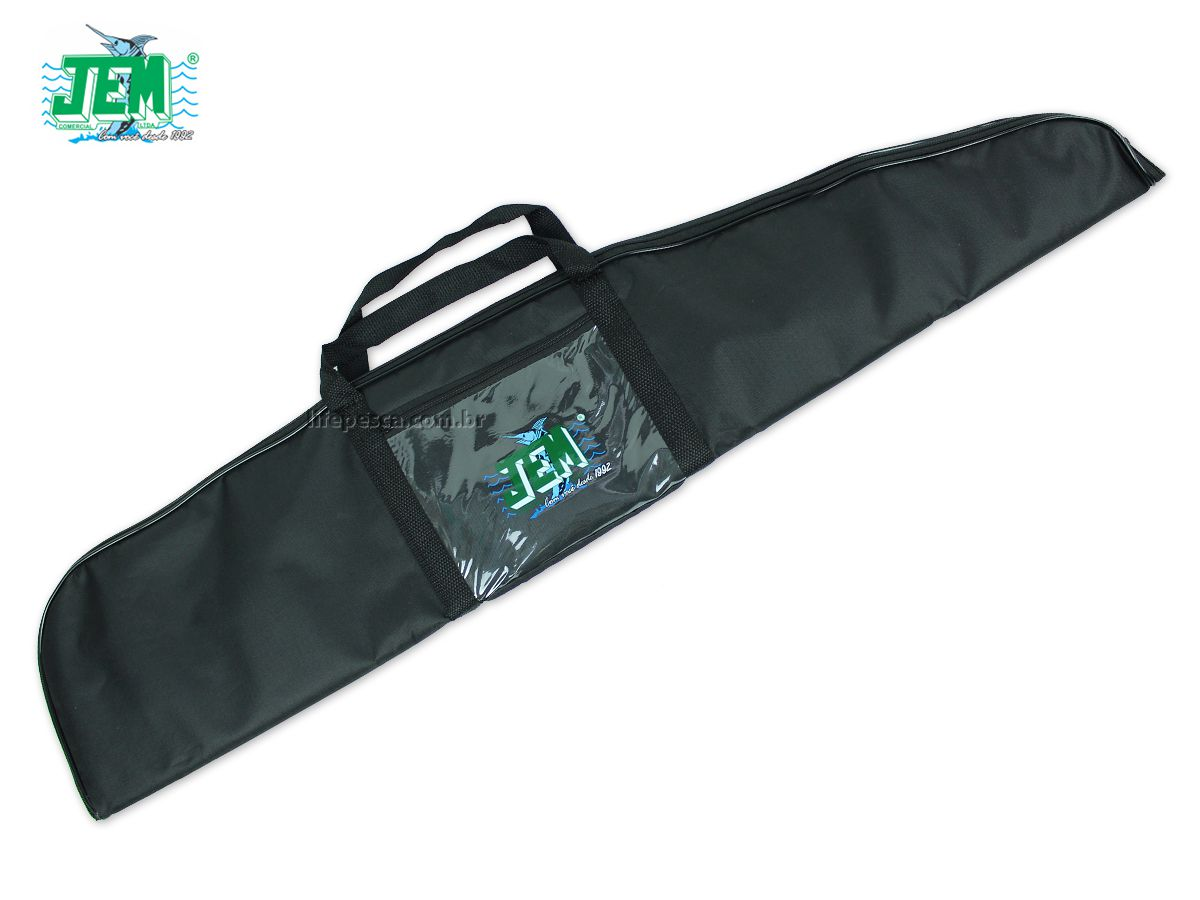 Capa Protetora Para Carabina Almofadada (1,13m) JEM - Várias Cores