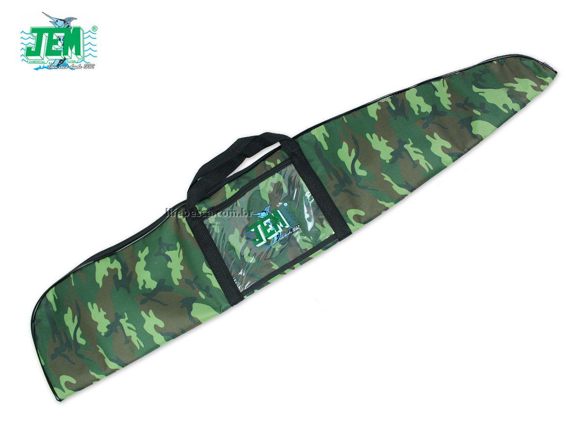 Capa Protetora Para Carabina Almofadada (1,22m) JEM - Várias Cores