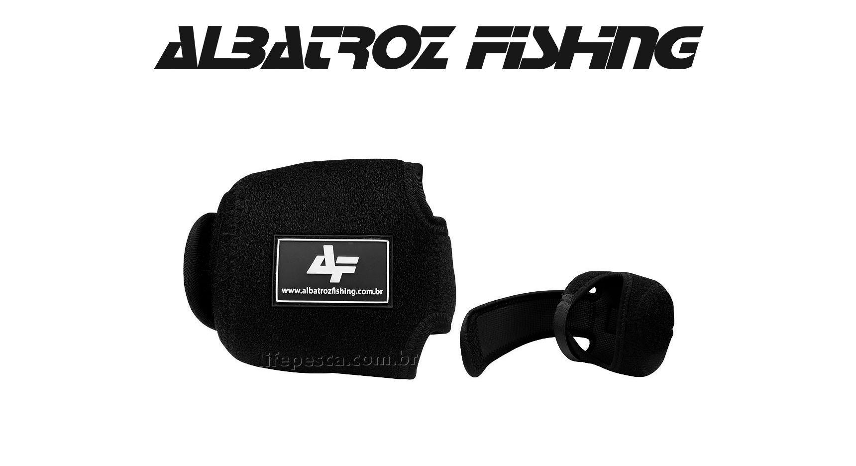 Capa Protecast Para Carretilha (Perfil Baixo) - Albatroz Fishing - RBC8-S  - Life Pesca - Sua loja de Pesca, Camping e Lazer