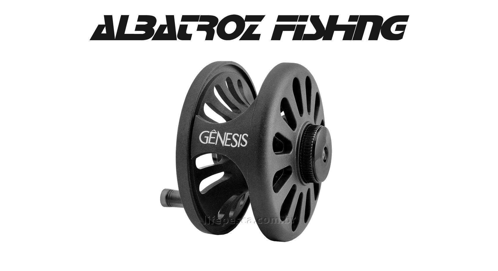 Carretilha Gênesis 6/8 (85mm) Fly Fishing - Albatroz Fishing