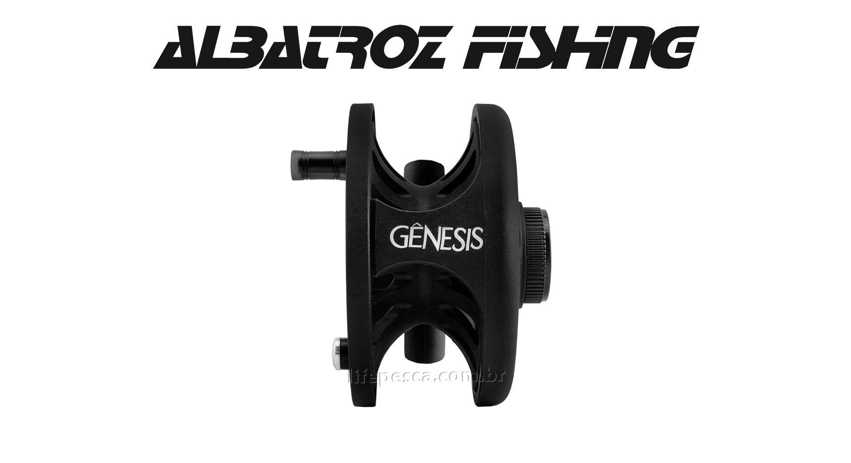 Carretilha Gênesis 6/8 Fly Fishing - Albatroz Fishing  - Life Pesca - Sua loja de Pesca, Camping e Lazer
