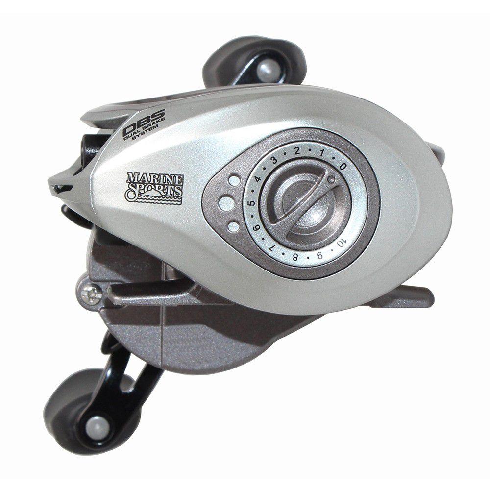 Carretilha Perfil Baixo Marine Sports Brisa Lite 4000 - 4 Rolamentos  - Life Pesca - Sua loja de Pesca, Camping e Lazer