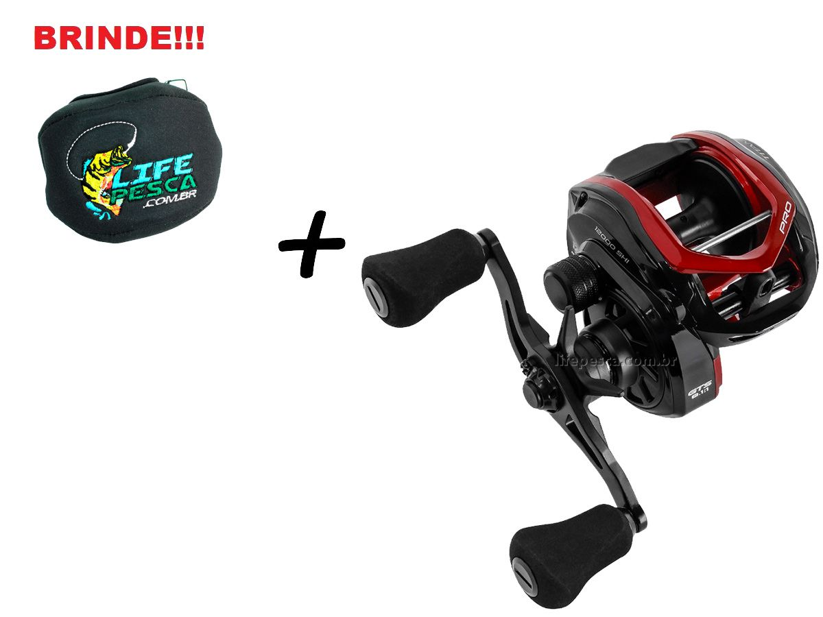 Carretilha Marine Sports Titan Pro 12000 Big Game - 12 Rolamentos