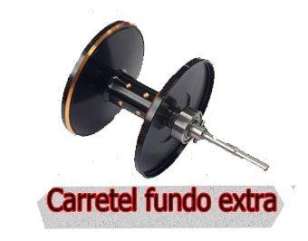 Carretilha Maruri TNT7000 Com Carretel Reserva - Amarela  - Life Pesca - Sua loja de Pesca, Camping e Lazer