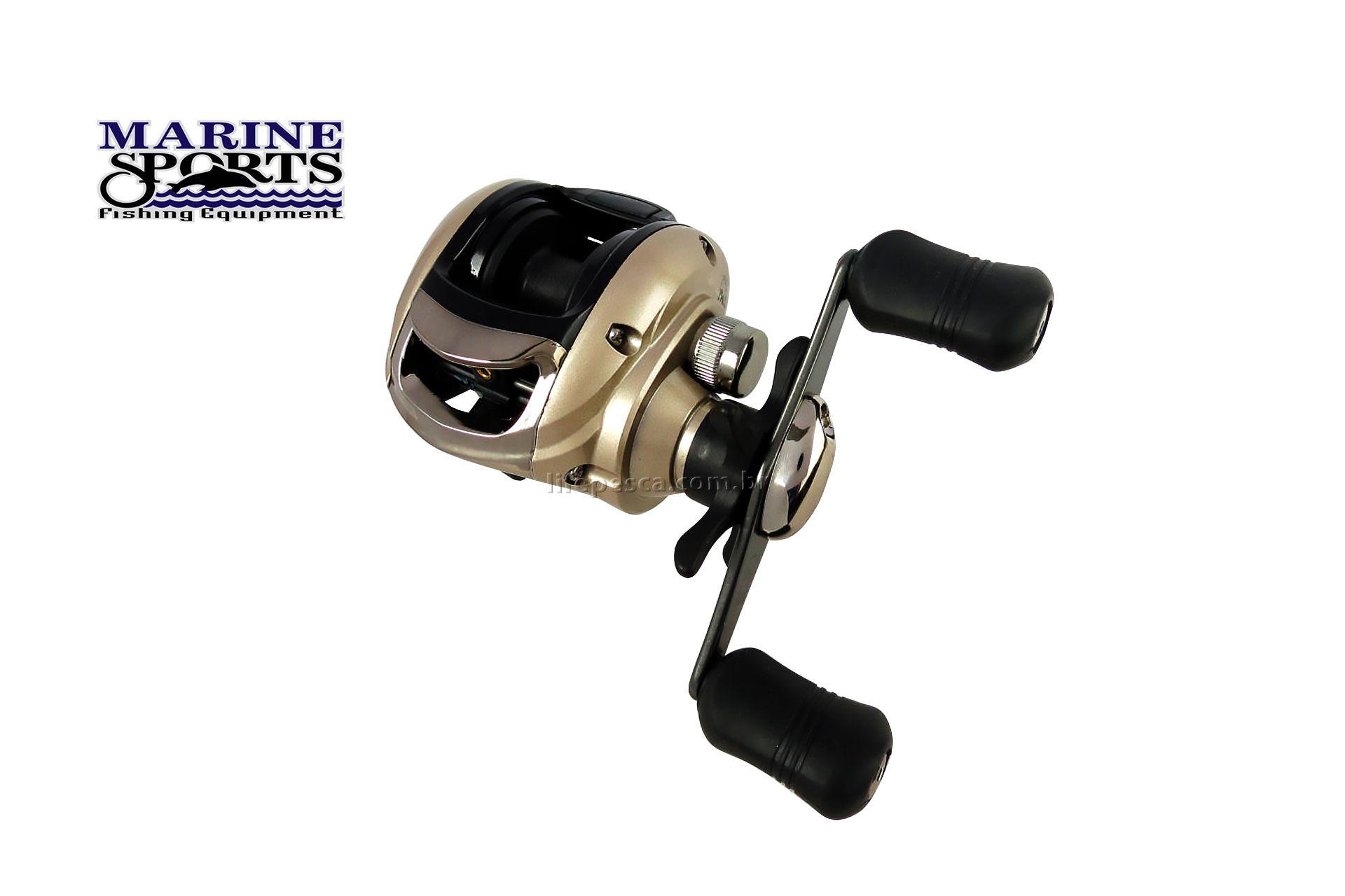 Carretilha Perfil Baixo Marine Sports Elite 3000 - 3 Rolamentos  - Life Pesca - Sua loja de Pesca, Camping e Lazer