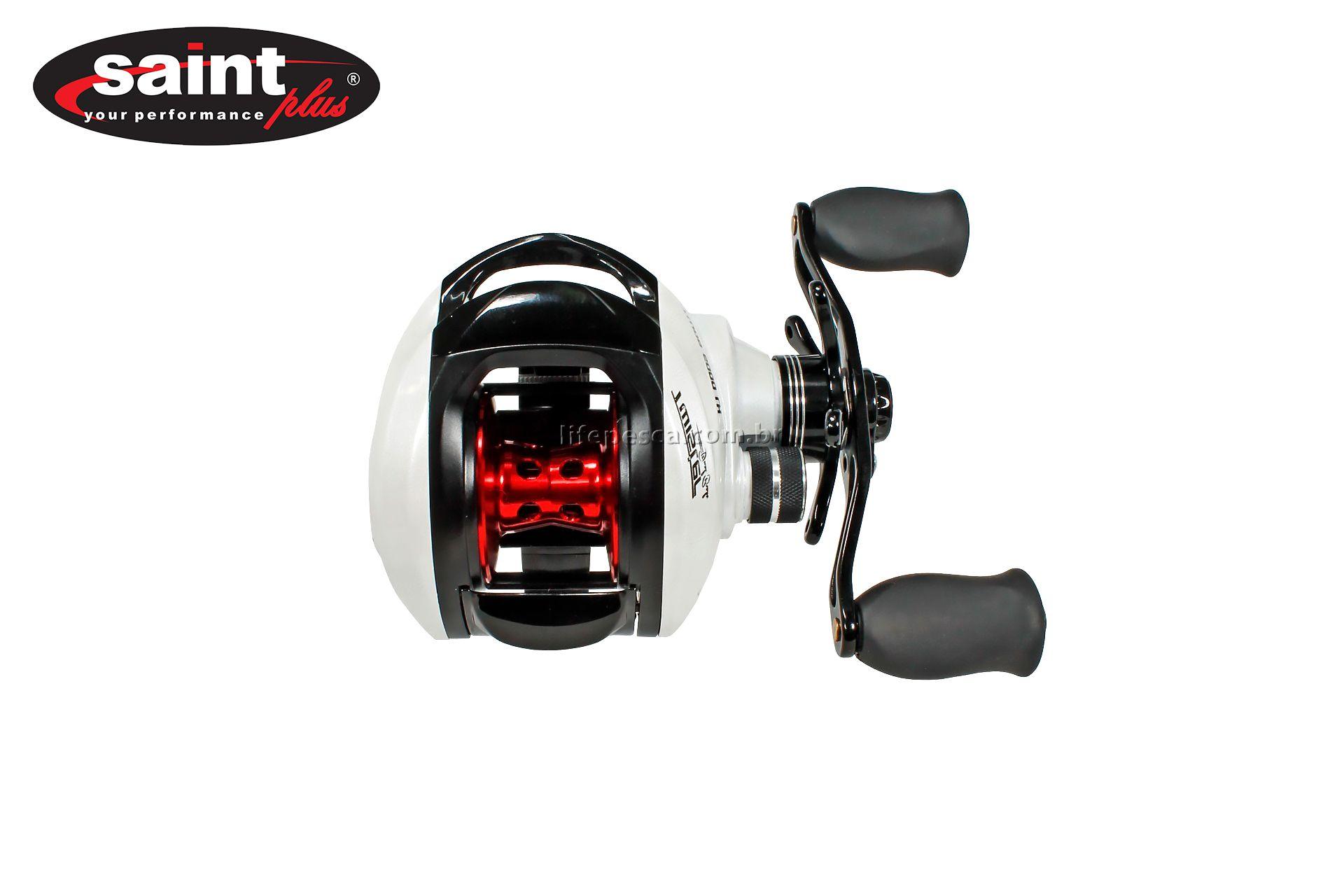 Carretilha Perfil Baixo Saint Twister Dual Brake 6000 - 6 Rolamentos  - Life Pesca - Sua loja de Pesca, Camping e Lazer