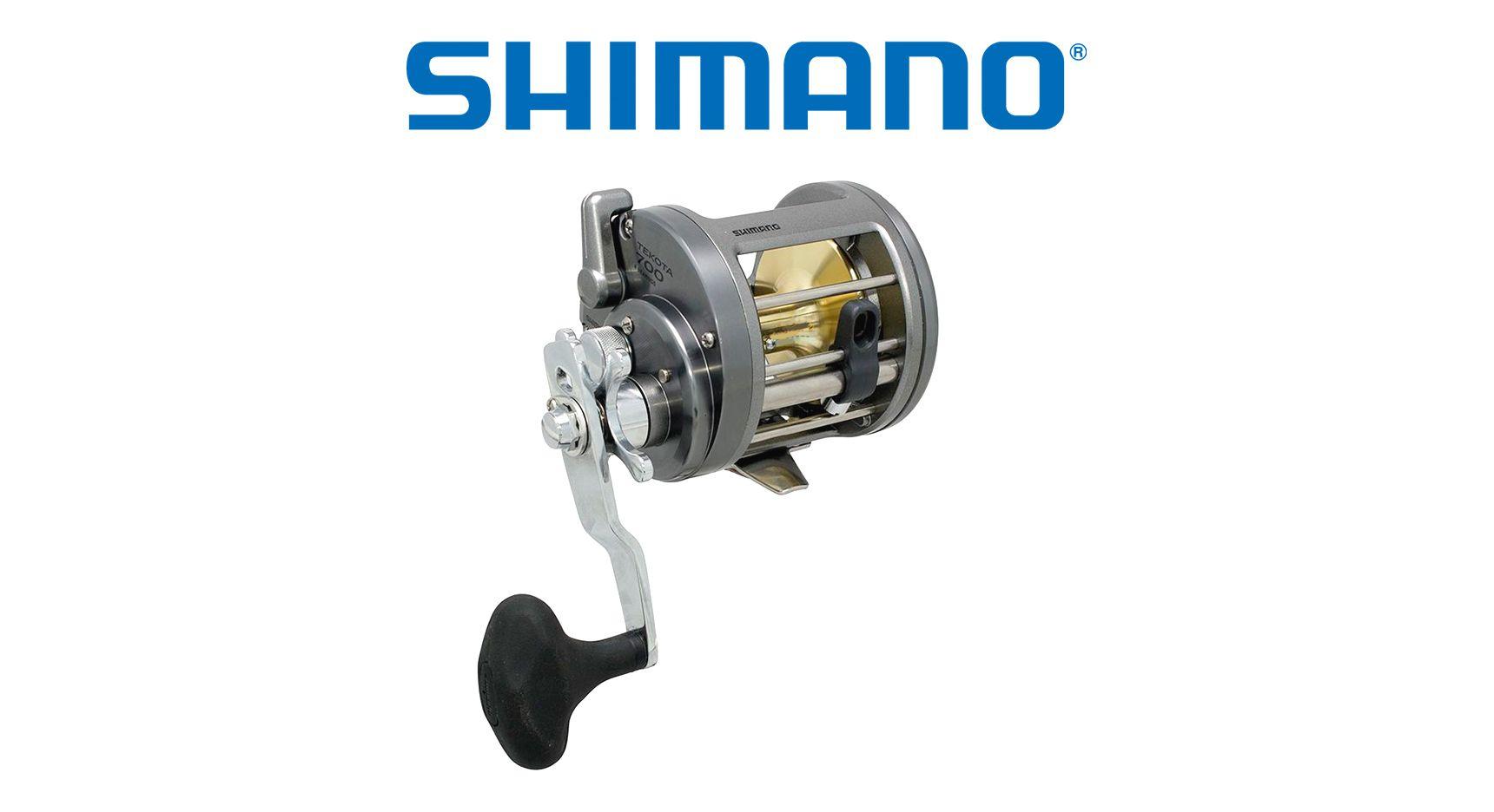 Carretilha Shimano Tekota 700 - Perfil Alto  - Life Pesca - Sua loja de Pesca, Camping e Lazer