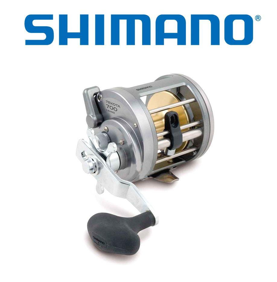 Carretilha Shimano Tekota 800 - Perfil Alto  - Life Pesca - Sua loja de Pesca, Camping e Lazer
