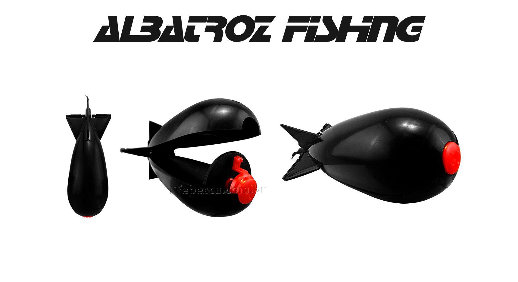 Cevadeira Rocket - Albatroz Fishing  - Life Pesca - Sua loja de Pesca, Camping e Lazer