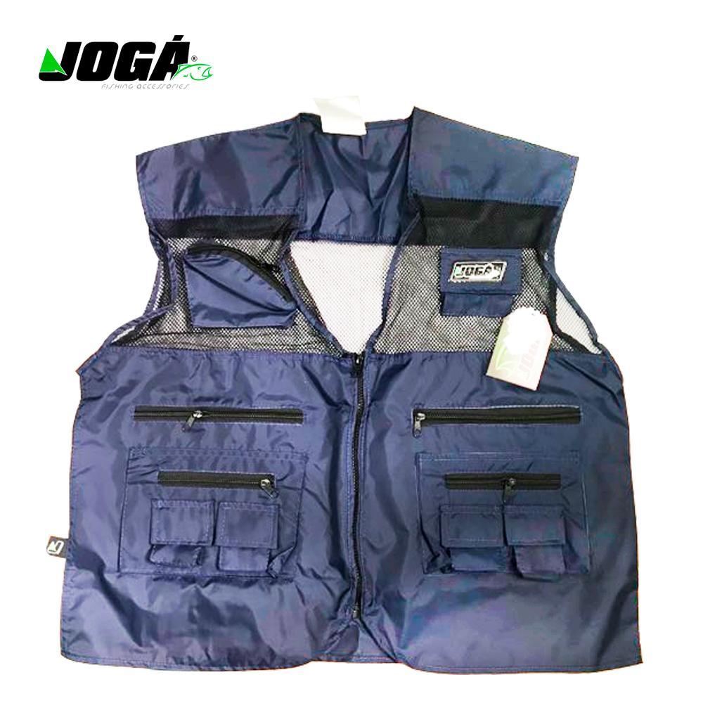 Colete Pescador Jogá (tamanho Gg - Cor Azul) 10 Bolsos