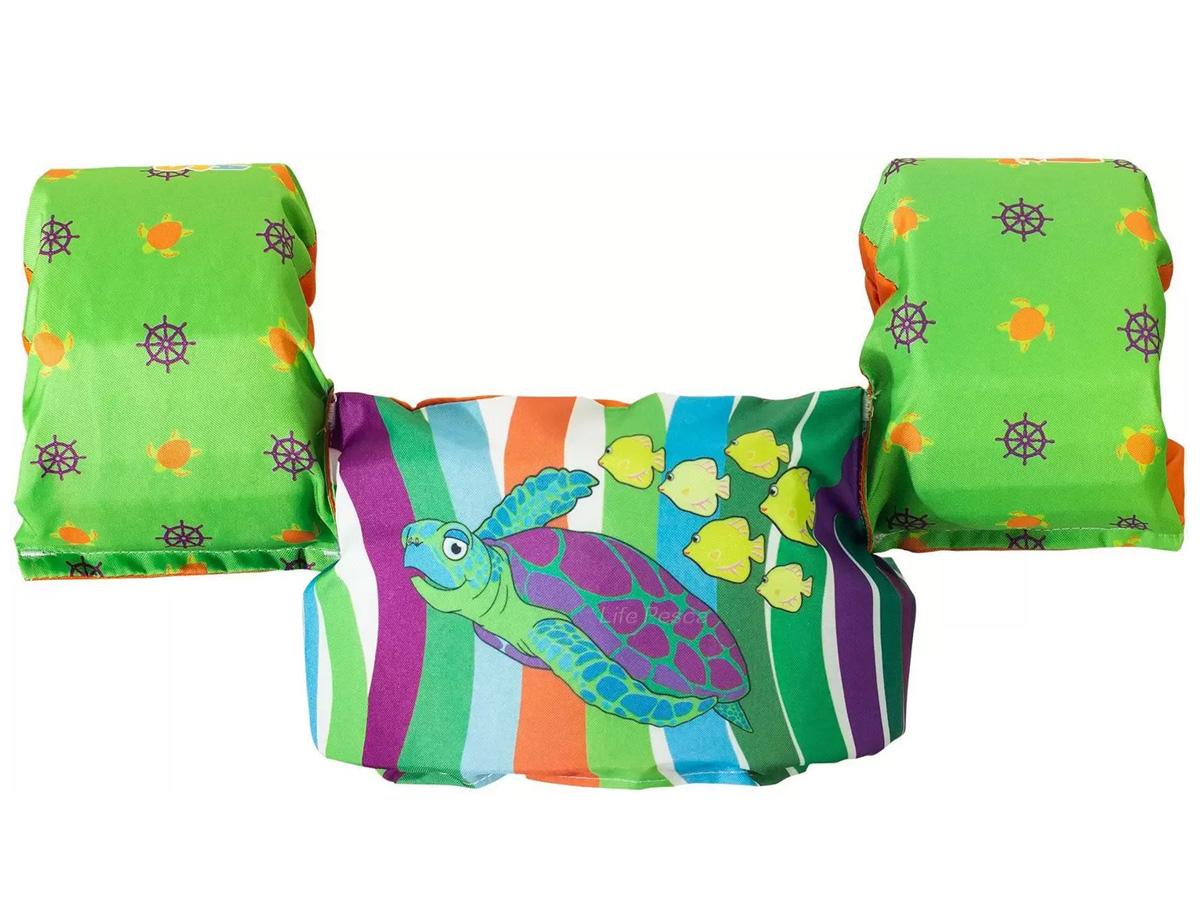 Colete Salva Vidas Infantil Ativa Kids Tartaruga Homologado (Até 25 Kg).-  Ativa Náutica