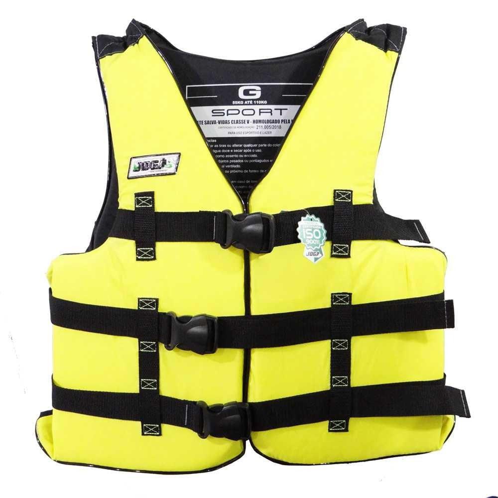 Colete Salva Vidas Jogá Homologado Classe 5 Sport - G  - Life Pesca - Sua loja de Pesca, Camping e Lazer
