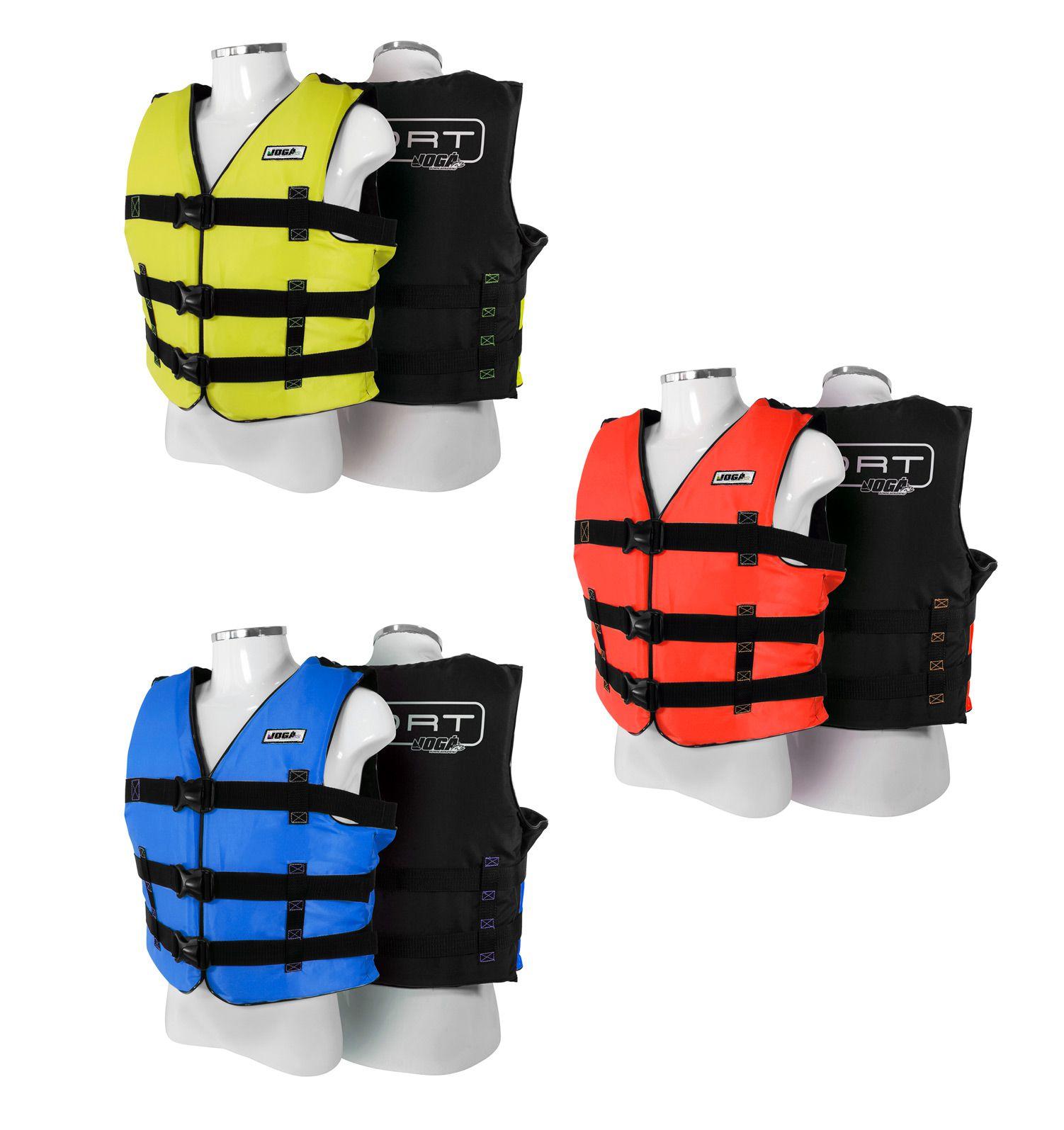 Colete Salva Vidas Jogá Homologado Classe 5 Sport - GG (Acima de 110kg)  - Life Pesca - Sua loja de Pesca, Camping e Lazer