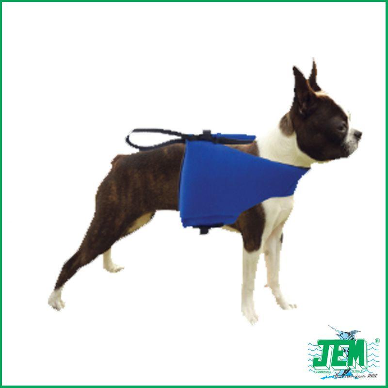 Colete Salva Vidas Para Cães JEM (Médio Porte) - Várias Cores