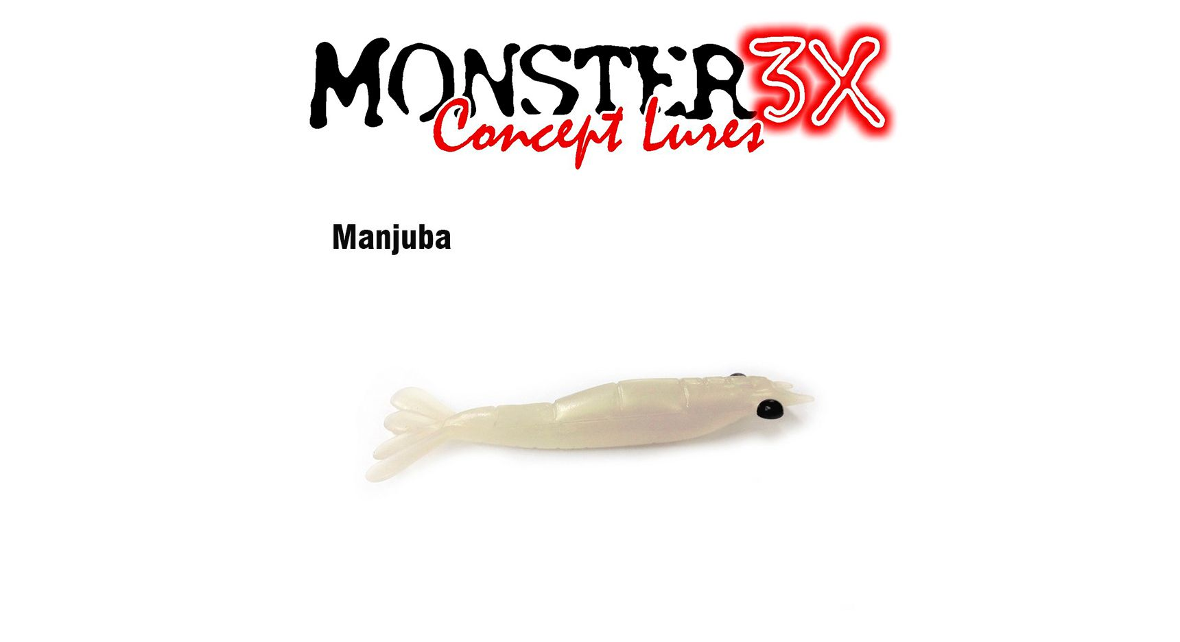 Isca Artificial Soft Monster 3X Ultra Soft (7,5 cm) 3 Unidades - Várias Cores  - Life Pesca - Sua loja de Pesca, Camping e Lazer
