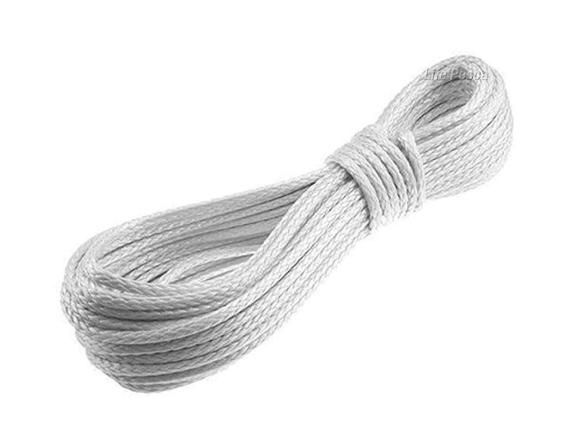 Corda de Retinida Branca Flutuante 10mm - 1 Metro