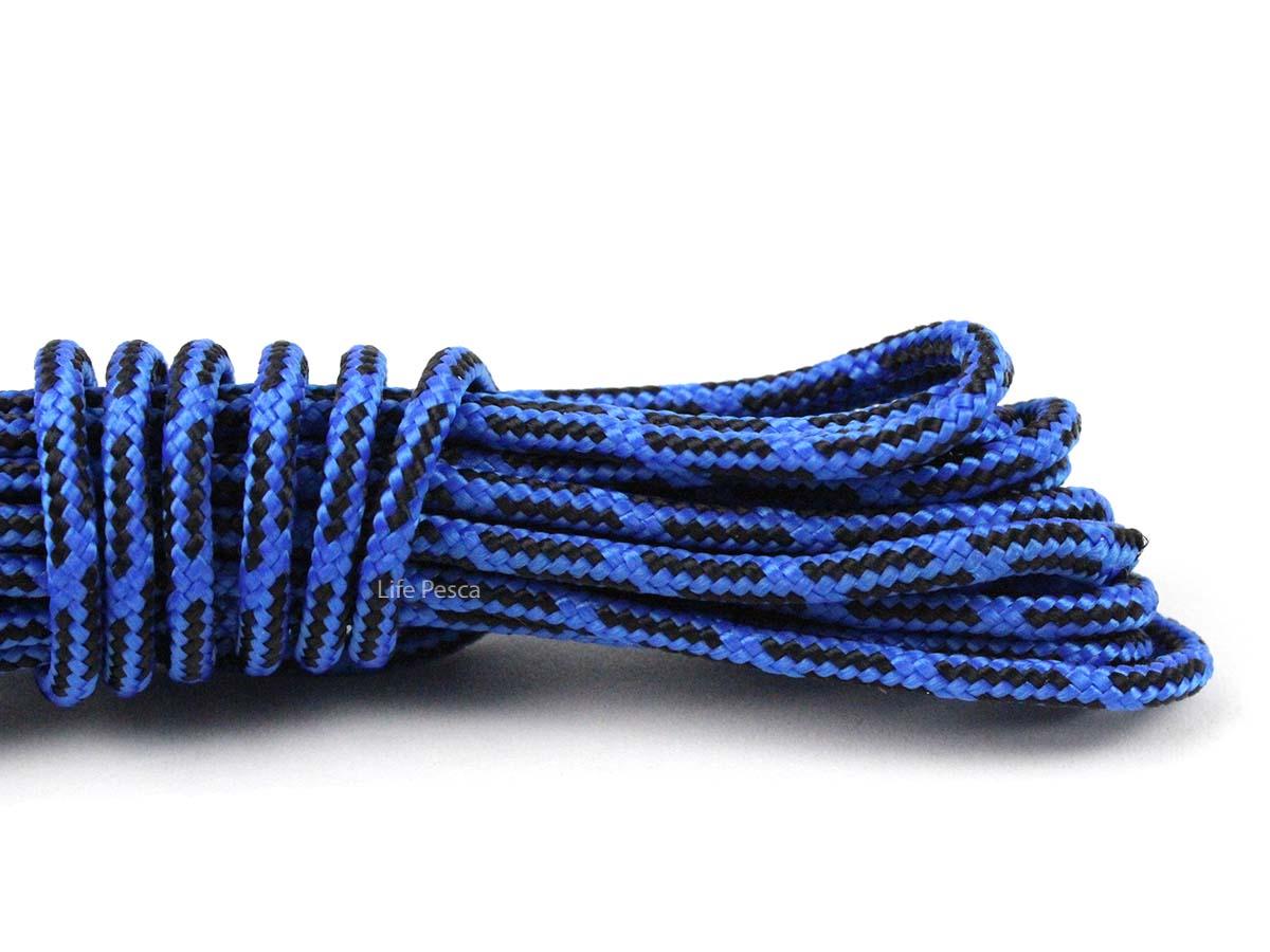 Corda Trançada de Polipropileno Mazzaferro Multicolor 4mm - 30 Metros