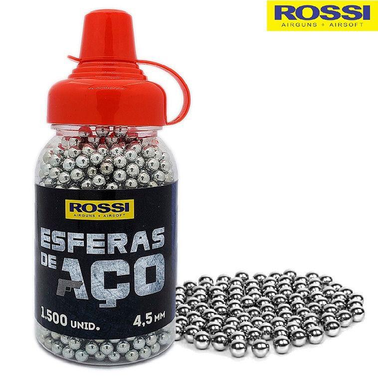 Esferas de Aço Rossi 4,5mm (1.500 Unid)