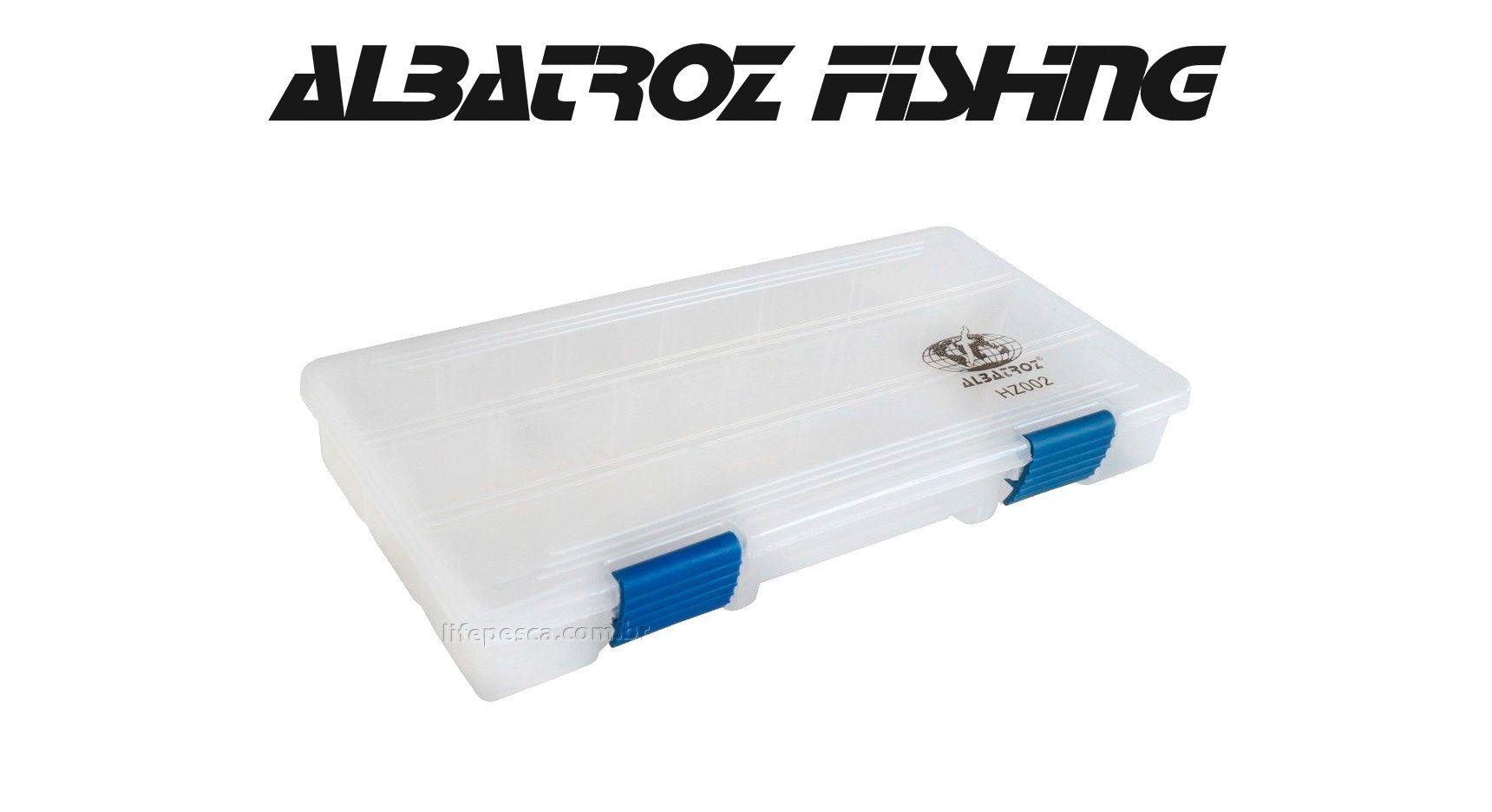 Estojo 13 Divisórias HZ002 - Albatroz Fishing