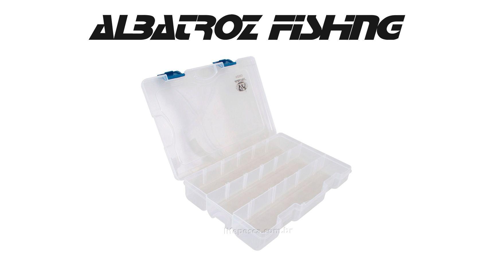 Estojo 13 Divisórias HZ002 - Albatroz Fishing  - Life Pesca - Sua loja de Pesca, Camping e Lazer