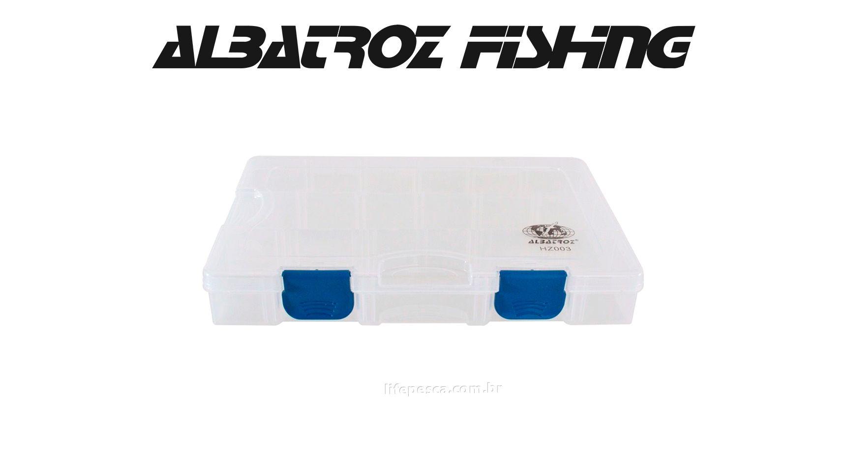 Estojo 13 Divisórias HZ003 - Albatroz Fishing