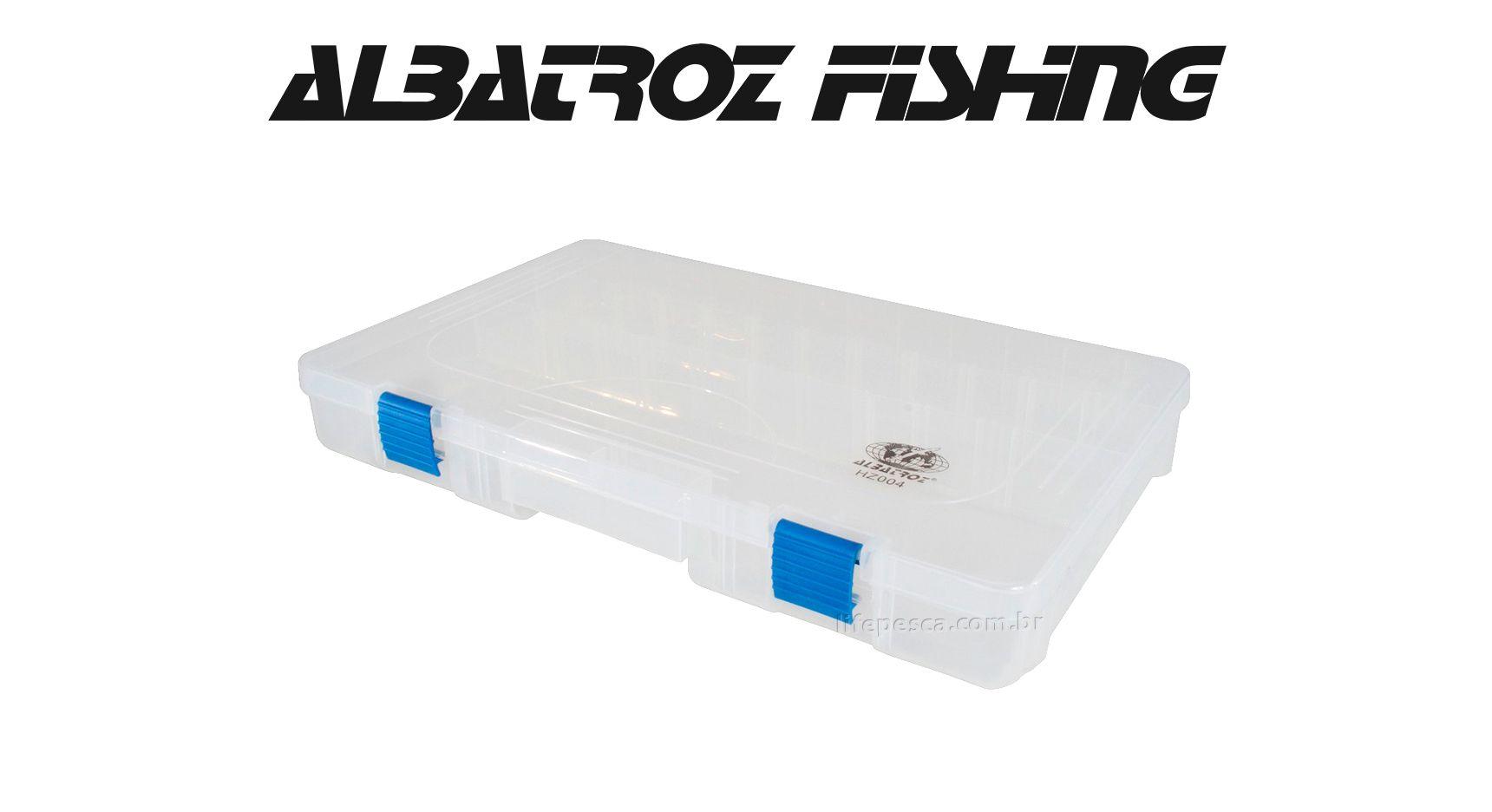 Estojo 18 Divisórias HZ004 - Albatroz Fishing