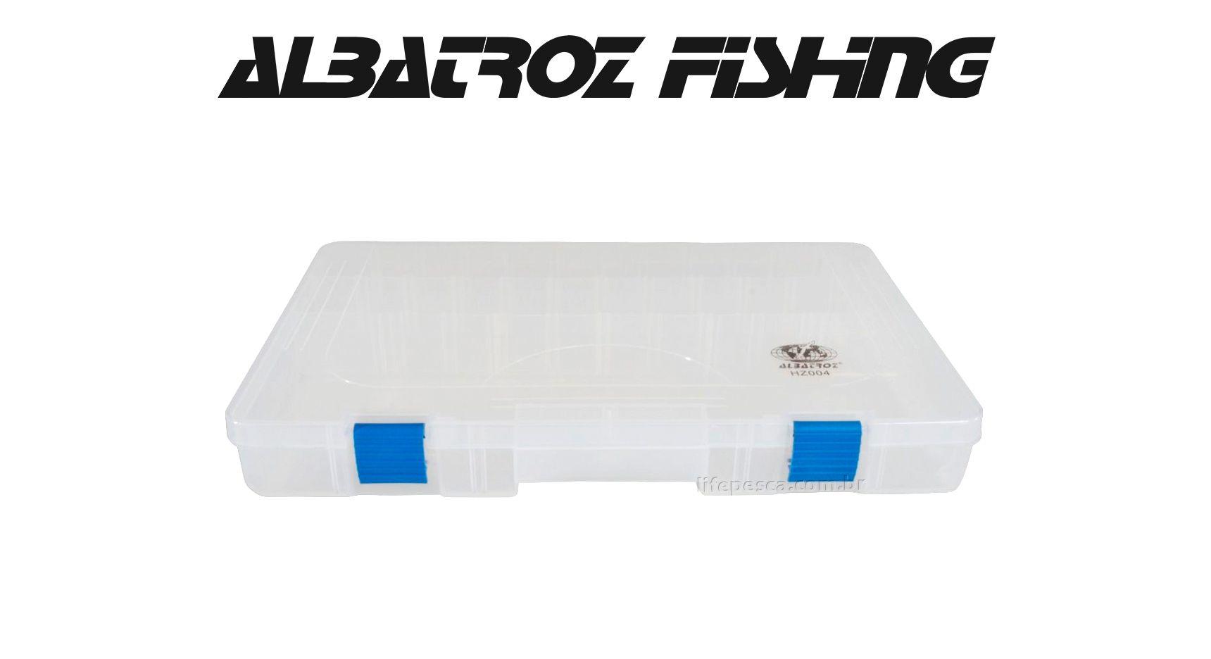 Estojo 18 Divisórias HZ004 - Albatroz Fishing  - Life Pesca - Sua loja de Pesca, Camping e Lazer