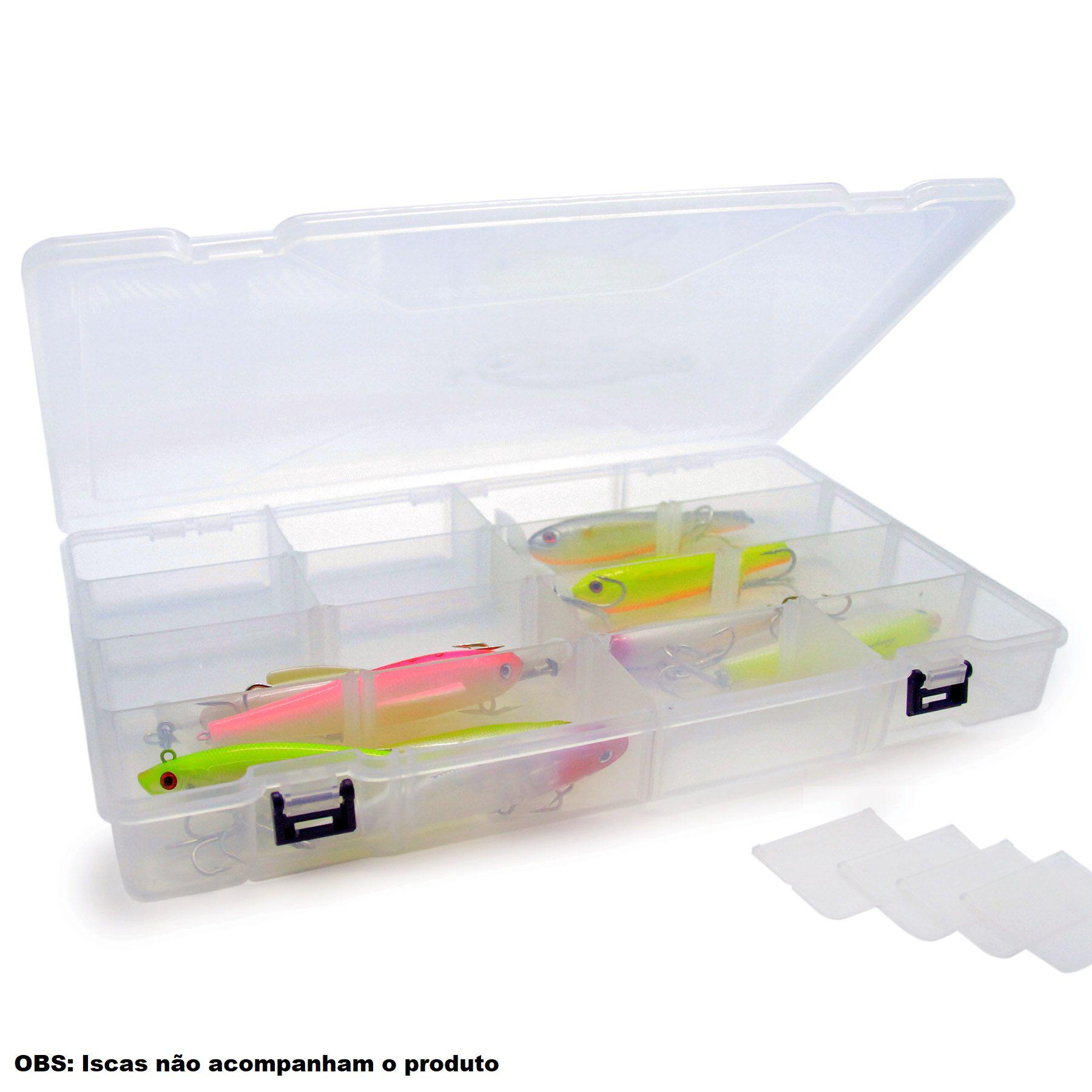 Estojo Lucky Big Box - Nelson Nakamura  - Life Pesca - Sua loja de Pesca, Camping e Lazer