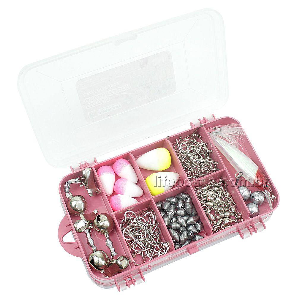Estojo Organizador Para Pesca 2 Em 1 Lady Box 3202 - Arqplast