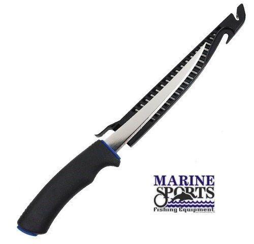Faca Fileteira Marine Sports Fillet Knife MS08 16cm Aço Inox