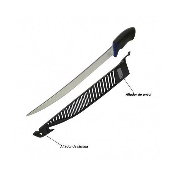 Faca Fileteira Marine Sports Fillet Knife MS10 23cm Aço Inox  - Life Pesca - Sua loja de Pesca, Camping e Lazer
