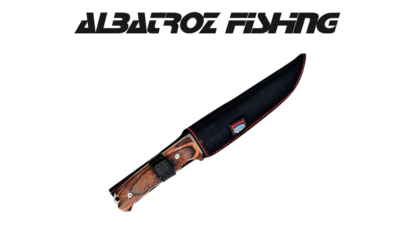Faca K107 Albatroz Fishing - Cabo Madeira  - Life Pesca - Sua loja de Pesca, Camping e Lazer
