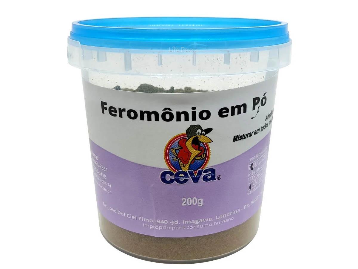 Feromônio em Pó (Atrativo para Peixes) Ceva Iscas - 200g